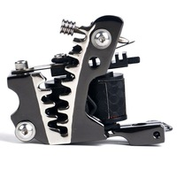 Best quality hot selling stable tattoo machine Professional10 Wrap Coils Signature Tattoo Gun free shipping
