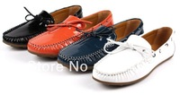 New High quality Sneakers for Men Casual Shoes Genuine Leather Moccasins men shoes Footwear Boat Shoes Loafers Men Free shipping
