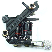 FREE SHIPPING LZY new design powerful tattoo gun professional black emperor best quality tattoo machine