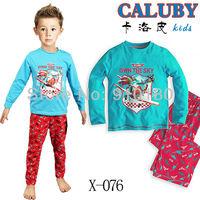 Free shipping 6 sets/lot Cartoon Dusty planes Baby boys girls Pajamas Kids pyjamas nightgown Sleepwear