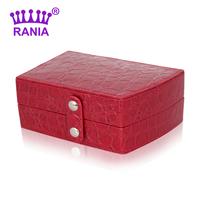 Jewelry box princess fashion royal small portable box travel jewelry box