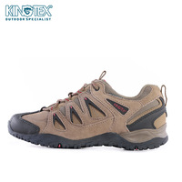 Kingtex outside sport shoes low walking shoes breathable casual outdoor waterproof hiking shoes