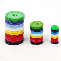 Quality resin button buttons high quality black white multicolor diy