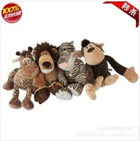 Plush toys wholesale NICI lion tiger deer monkey jungle brothers toys wholesale children birthday holiday gifts