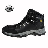 Ran 106 slip-resistant waterproof genuine leather hiking shoes outdoor high lovers design