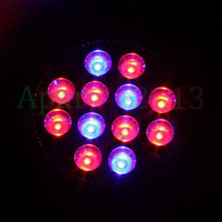 Hot sales 2014 New 36W E27 8RED 4BLUE LED Hydroponic Plant Flower Grow Light Greenhouse Lamp Bulb LED Bulbs