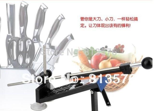 Professional Kitchen Knife Sharpener System Fix-angle 4 Stones Wholesale.The most popular stylish kitchen appliance(China (Mainland))