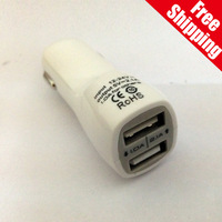 3.5A Dual USB Car Charger Adapter for Samsung i9500 / i9200and iphone5 5s 5c 4s 4 ipad 2 3 4 ipad air other USB Device