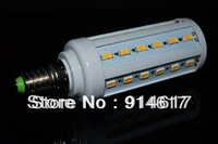Ultra Bright E27 Lamp AC220V 15W 5630 SMD 44 LED Corn Light Bulb Lamp Cool/Warm White Free shipping