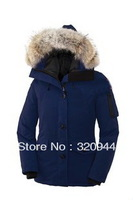Factory Price 5 Colors Lady's Winter Coat Monte bello Goose Down Parka Down&Parkas Jacket Women's Down Coat XS-XXL