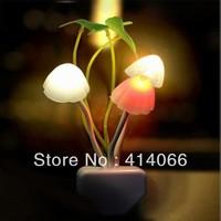 electric induction dream mushroom Fungus Lamp,LED table lamp, mushroom lamp,Energy saving Light Freeshipping