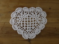 Crocheted Doilies Vase Mat Pads - Wedding Home Hotels Decoration-20Piece-- Physical picture 100%
