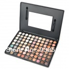 Protective Earthy Color Series 88-in-1 Cosmetic Eye Shadow Palette - Black
