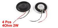 4 Pcs Repair Part Internal Speakers Magnet 36mm 3000Hz 4Ohm 2W for PC Laptop