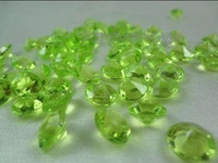 1000pieces 4 Carat Apple Green Diamond Confetti Party Table centerpiece Decor