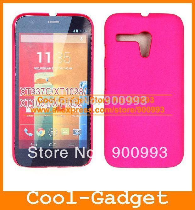 New Hybrid Colorful Rubberized Hard Plastic Case CellPhone Back Cover Shell for Motorola Moto G E 100pcs/lot MGC05(China (Mainland))