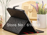 9 colors Book Folding Stand Folio Flip Leather Protective Case Cover For iPad 5 Air