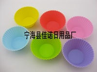 60PCS/lot Laciness horse cup silica gel cake mold jelly baking tools fda free shipping  cooking tools