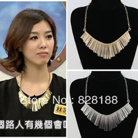 Star popular Europe and America classic  Tassels sector  necklace Nightclub jewelry Sexy fashion necklace Free shipping