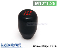 Tansky - (M12*1.25) Racing 5 SPeed Car Shift Knobs (Default Color is Black) TK-SK012BK (M12*1.25) High Quality