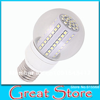 Free Shipping 2pcs/lot LED light B60 led bulb led light 80SMD 4w 480lm Put in AC 230V E27