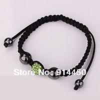 handmade bangles,one piece shamballa bracelet micro disco ball fashion shambhalla bracelets jewelry black mix colours free P&P