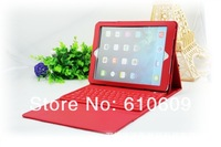 5 colors bluetooth keyboard For New Apple iPad Air iPad 5 Wireless Bluetooth Keyboard PU Leather Protective Case Cover Stand