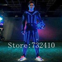 New LED light clothing Bar Night luminous performance clothing theatrical dance clothes men