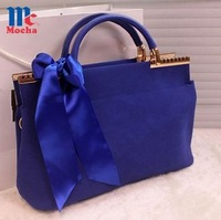 2014 new design!!Vintage Scarves mini women handbag   fashion Candy colors fresh pu leather women shoulder bags FQ0058
