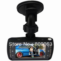 C1000 Full HD Dual Camera H.264 2.7 inch Screen Car Dvr Support G-Sensor and Motion detection