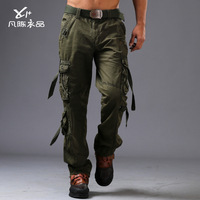 new Special warfare retro uniform pants washed cotton multi-pocket army trousers winter men outdoor leisure tooling pants H1877