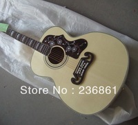 2014 Custom Shop New Arrival 6 Strings Spruce Cream-colored SJ Acoustic Guitar Free Shipping