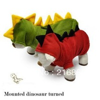 free shipping  large  pet dog  girl clothes for dogs 2014  harness pet products big dog clothing  t-shirt sale Small dinosaur