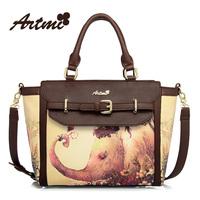 Vintage circleof artmi2013 print fashion sweet handbag cross-body women's handbag