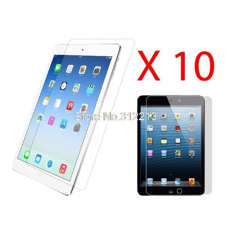 10 x HD Clear LCD Screen Protector Shield Guard Film For Apple iPad Air(China (Mainland))