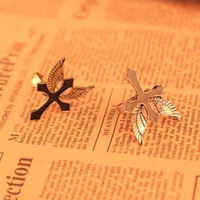 Min.order is $10 (mix order) 2014 New arrival  fashion Wing Cross rings for women  !