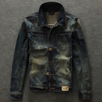 FASHION MEN'S Jacket on sale jeans jacket denim coat men's leasure jacket fashion coat hot sale jacke men