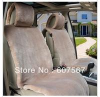 Four season wool velvet car seat cushion sheep shearing short plush car seat cushion