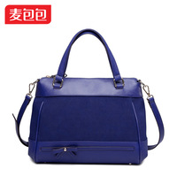 2013 elegant fashion ol bow women's handbag patchwork handbag messenger bag