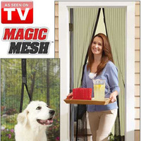 drop shipping Magic mesh fashion magnet screen window magnet mosquito net magnet curtain tv product