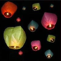 drop shipping Wishing lamp lotus lamp lanterns day lights heart romantic day lights