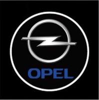 4th OPEL Car Logo Door Light LED Welcome Light Shadow Light Laser Lamp