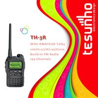 TESUNHO TH-3R best selling long range portable handheld fashionable two way radio phone