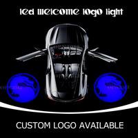 Dragon Emblem Gobo Car Door Step Courtesy Light LED Welcome Laser Light Projection Spotlight Ghost Shadow Logo Light 2423 Blue