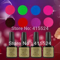 Free Shipping 5Pcs/lot  100% Brand New Soak Off UV Nail Gel Polish Factory Wholesale