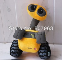 35cm Creative Wall-E robot plush toy doll children's Day gifts free shipping,Movie Robot Story free shipping