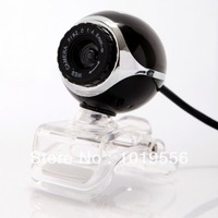 USB 50.0M HD Webcam Camera Web Cam With Mic for Desktop PC Laptop Computer Black