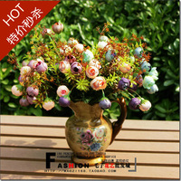 Rustic fashion artificial flower artificial flower decoration flower ldquo . balcony rdquo . fashion tea rose