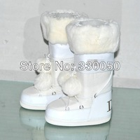 2013 winter luxury Brand Design Space boot Splice High Boots Anti-Cold Warm Rabbit Fur Women Snow Boot