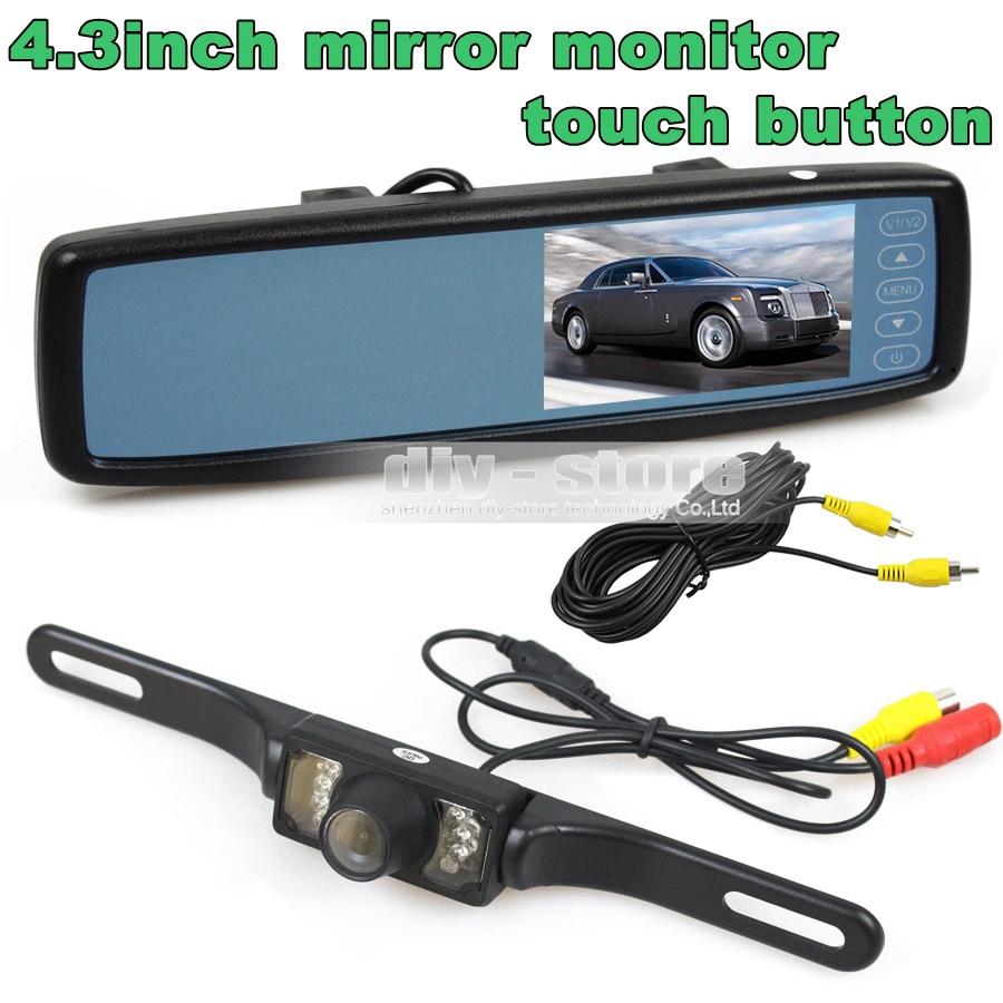инструкция 7-дюймовый цветной tft lcd зеркала заднего вида автомобиля